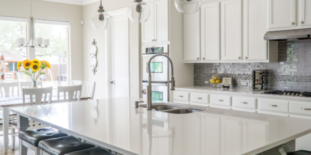 high end kitchen in the clayton heights are a surrey